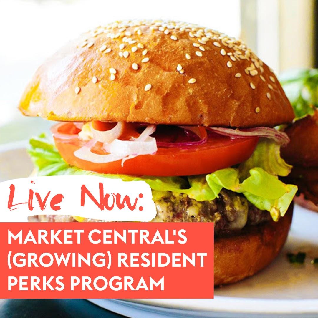 Market Central's (Growing) Resident Perks Program