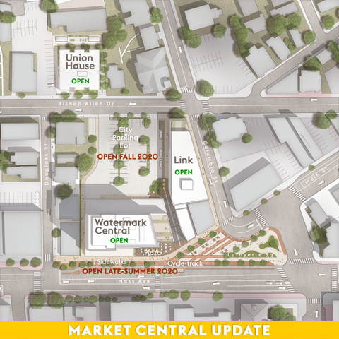 An Update on Construction at and Around Market Central