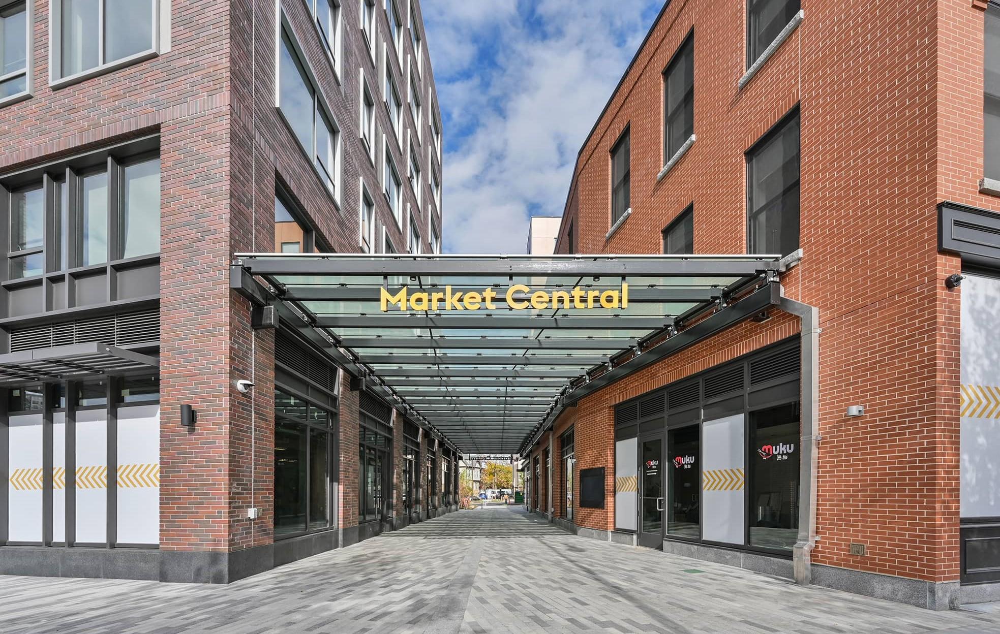 Front entrance of Market Central