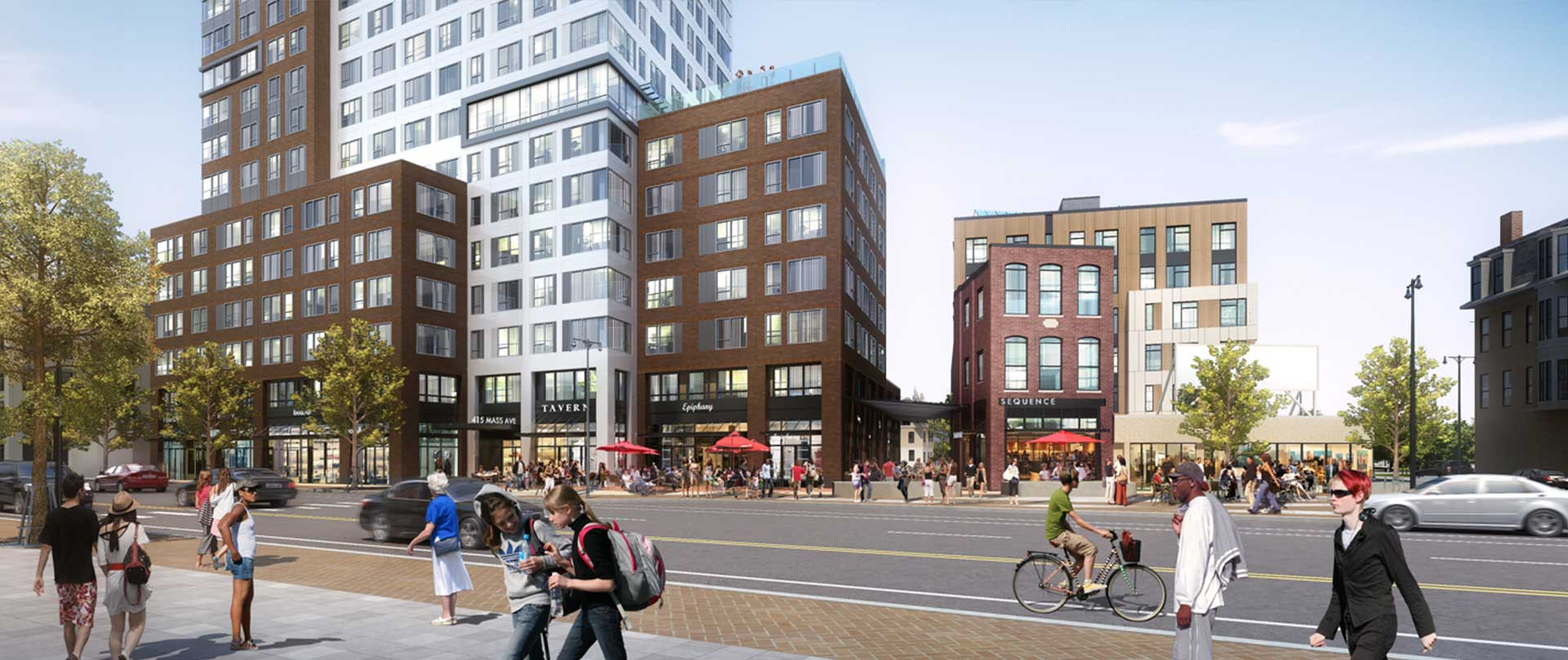 Central Square Neighborhood Rendering